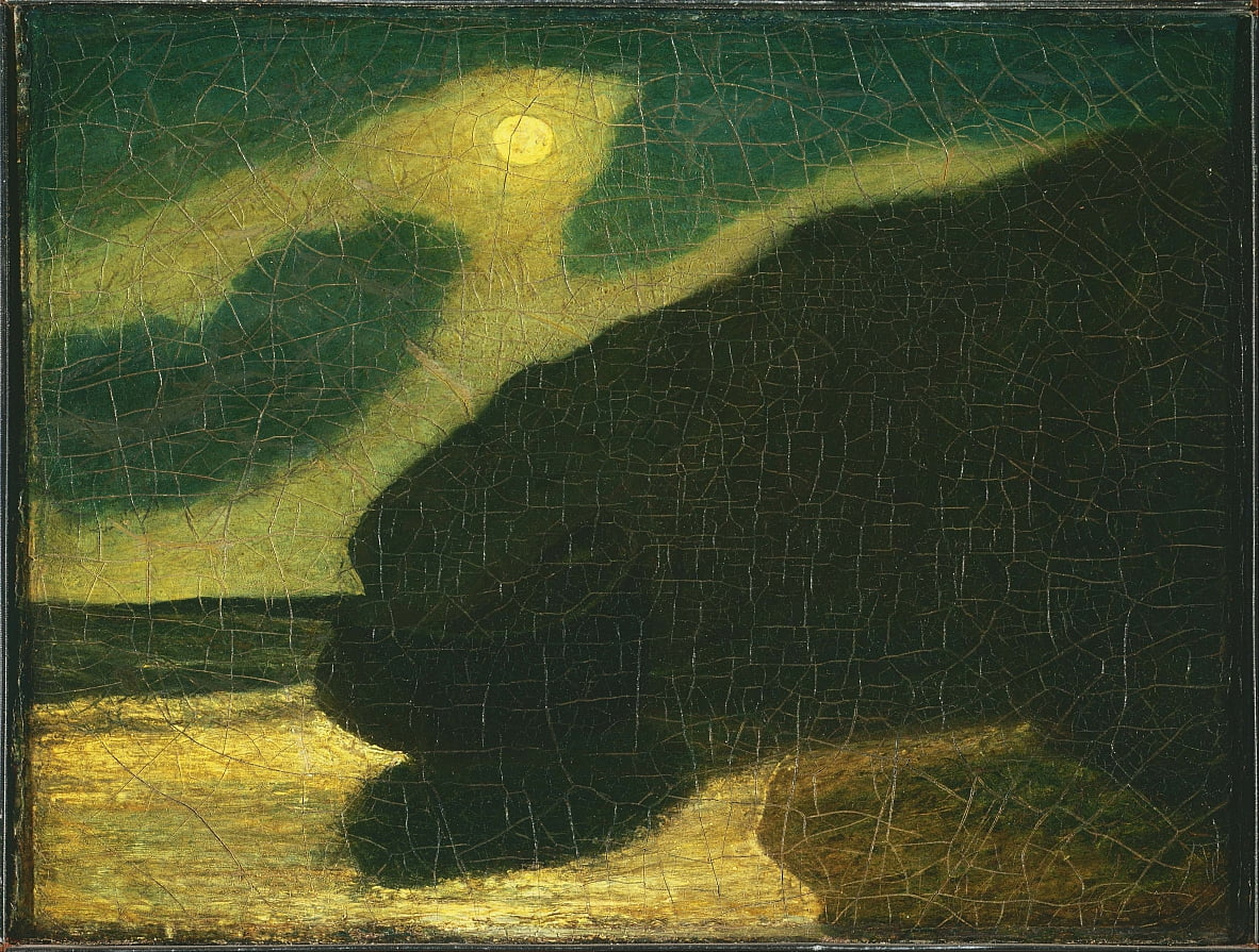 Moonlit Cove door Albert Pinkham Ryder