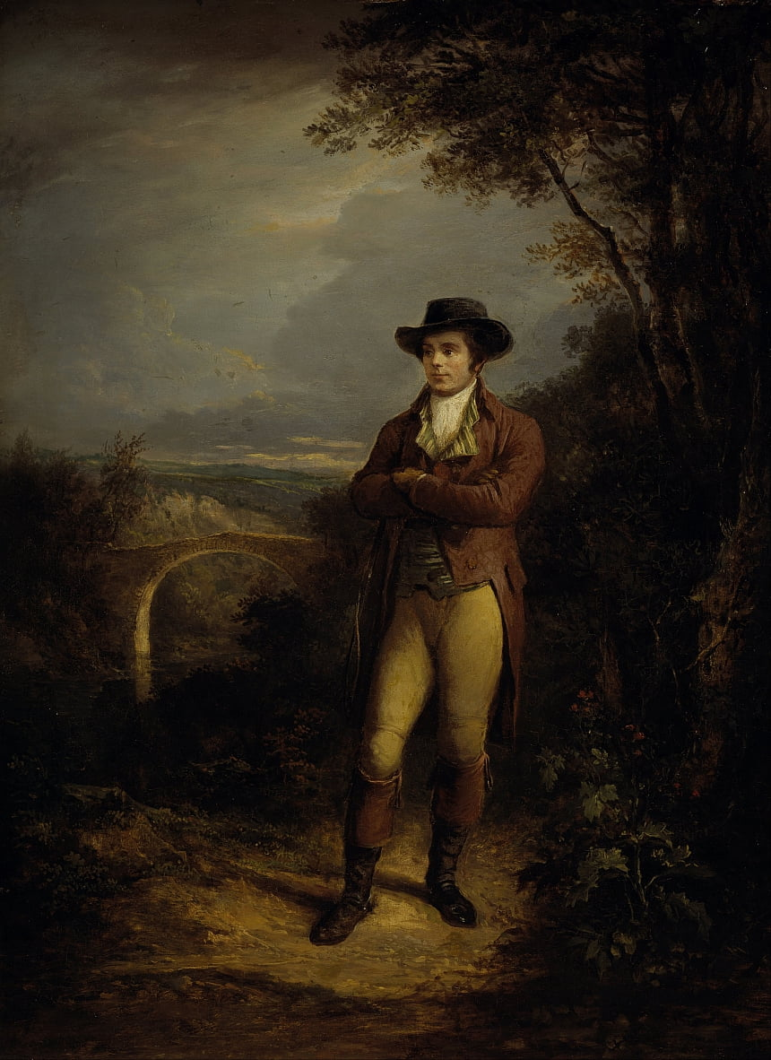 Robert Burns, 1759 door Alexander Nasmyth