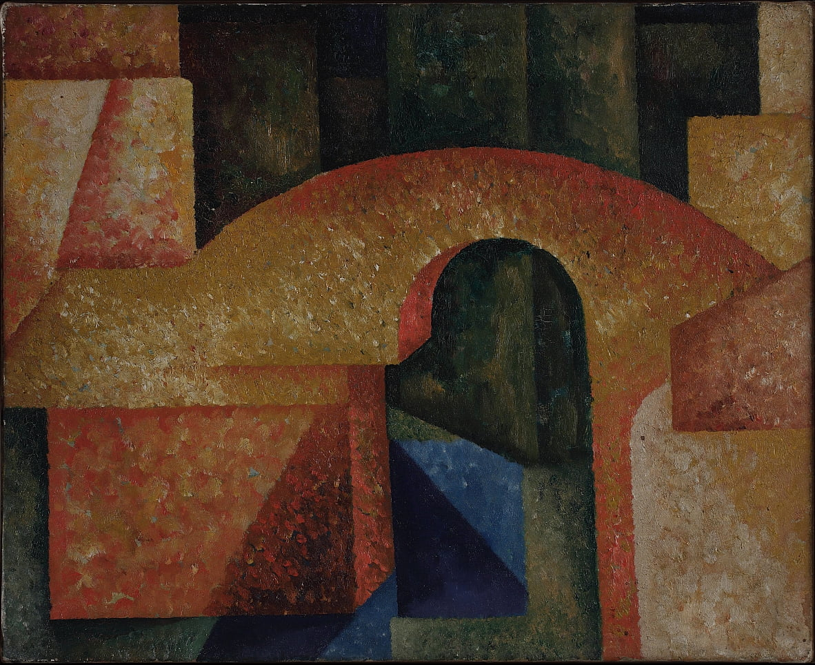 Untitled (Bridge) door Amadeo de Souza Cardoso