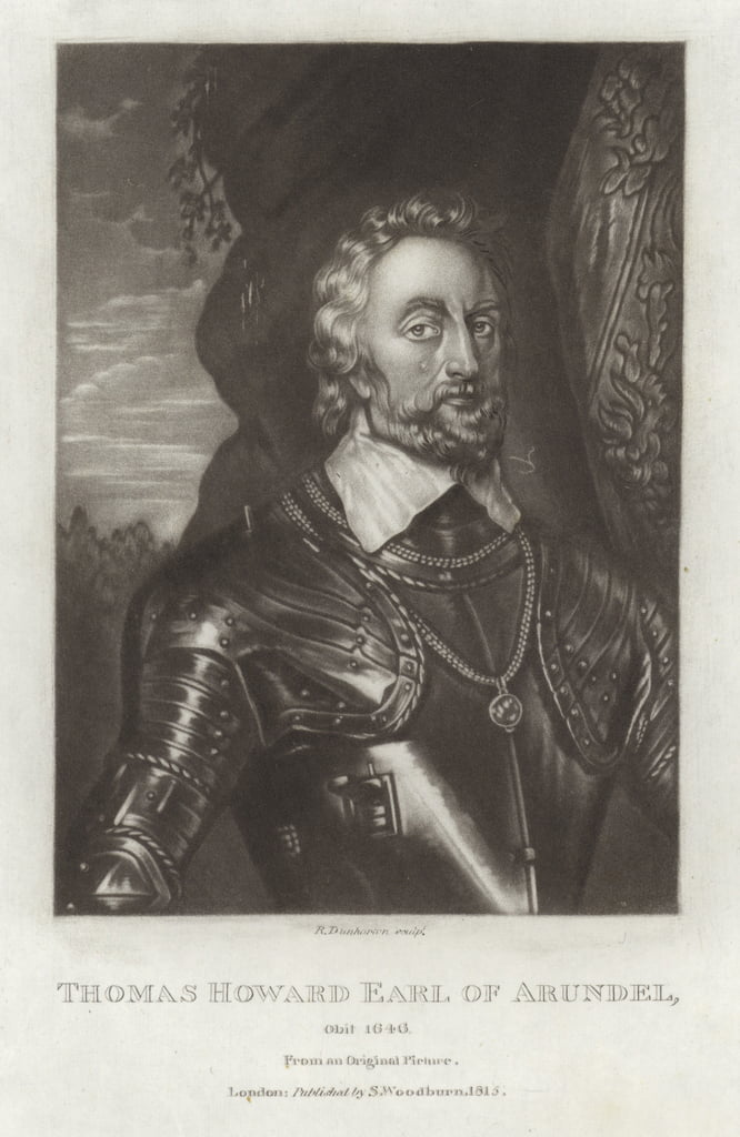 Thomas Howard Earl of Arundel door Anthony van Dyck