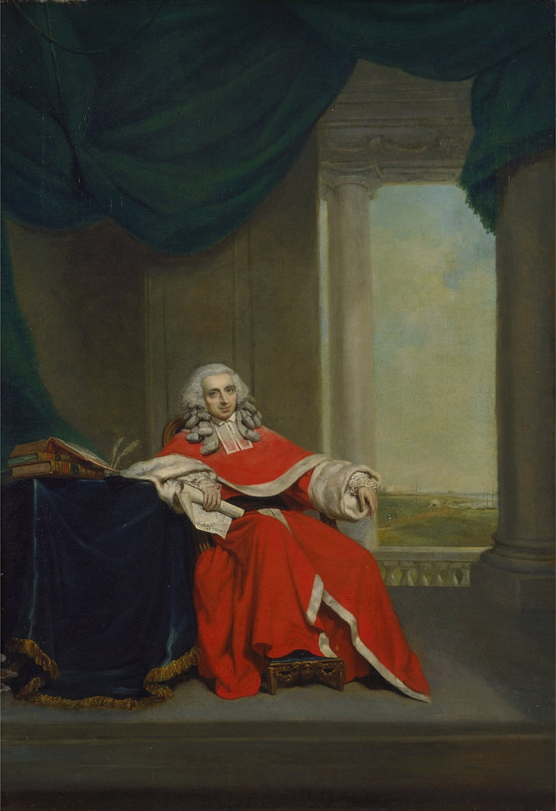 Sir Robert Chambers door Arthur Devis