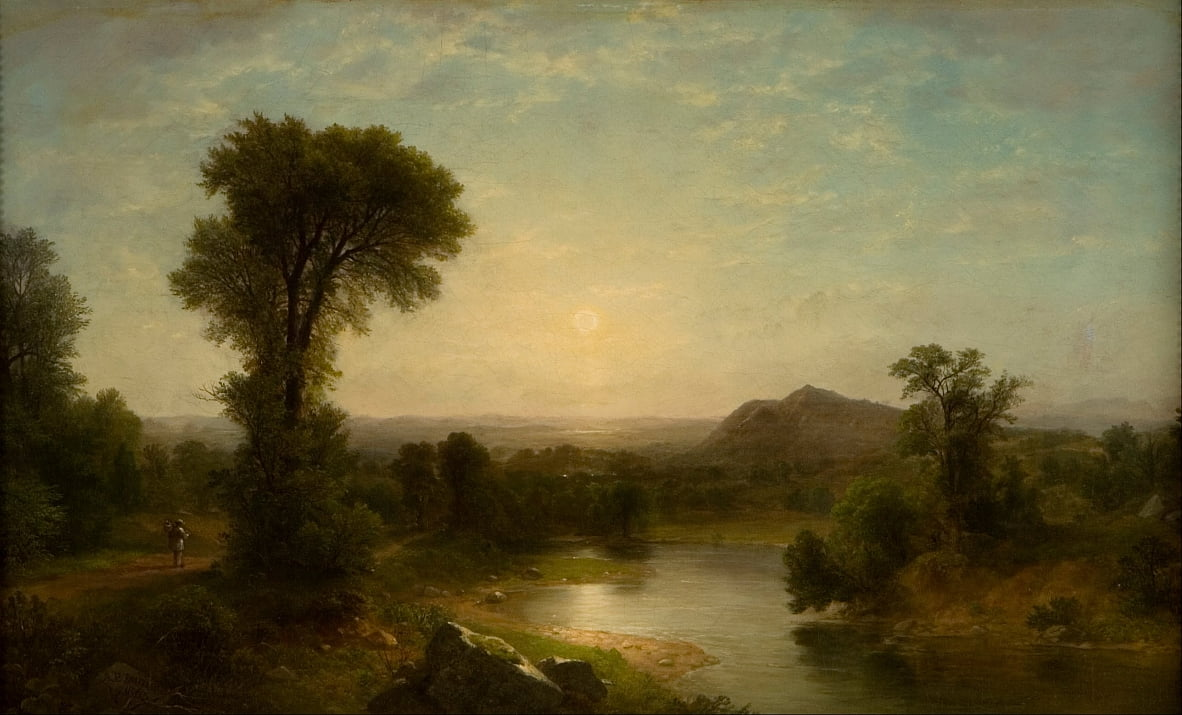 De Catskill-vallei door Asher Brown Durand