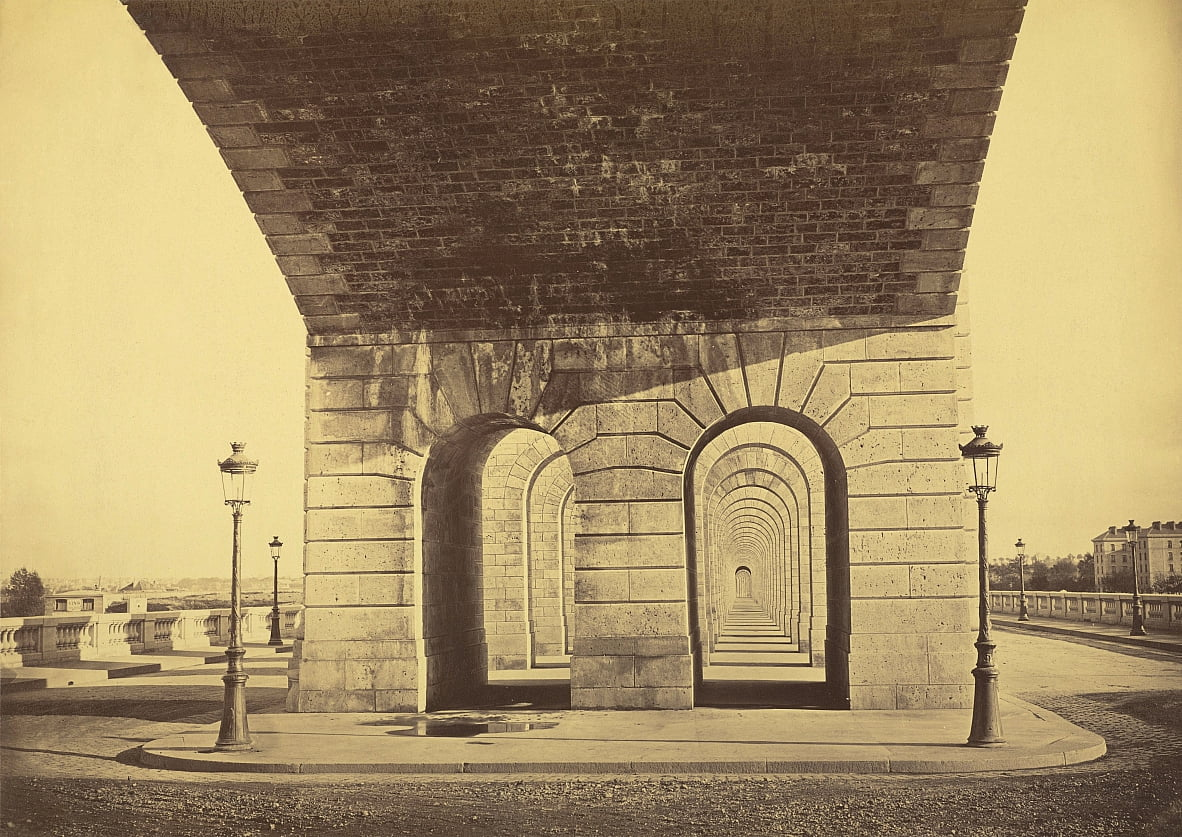 Point of the Day Bridge door Auguste Hippolyte Collard