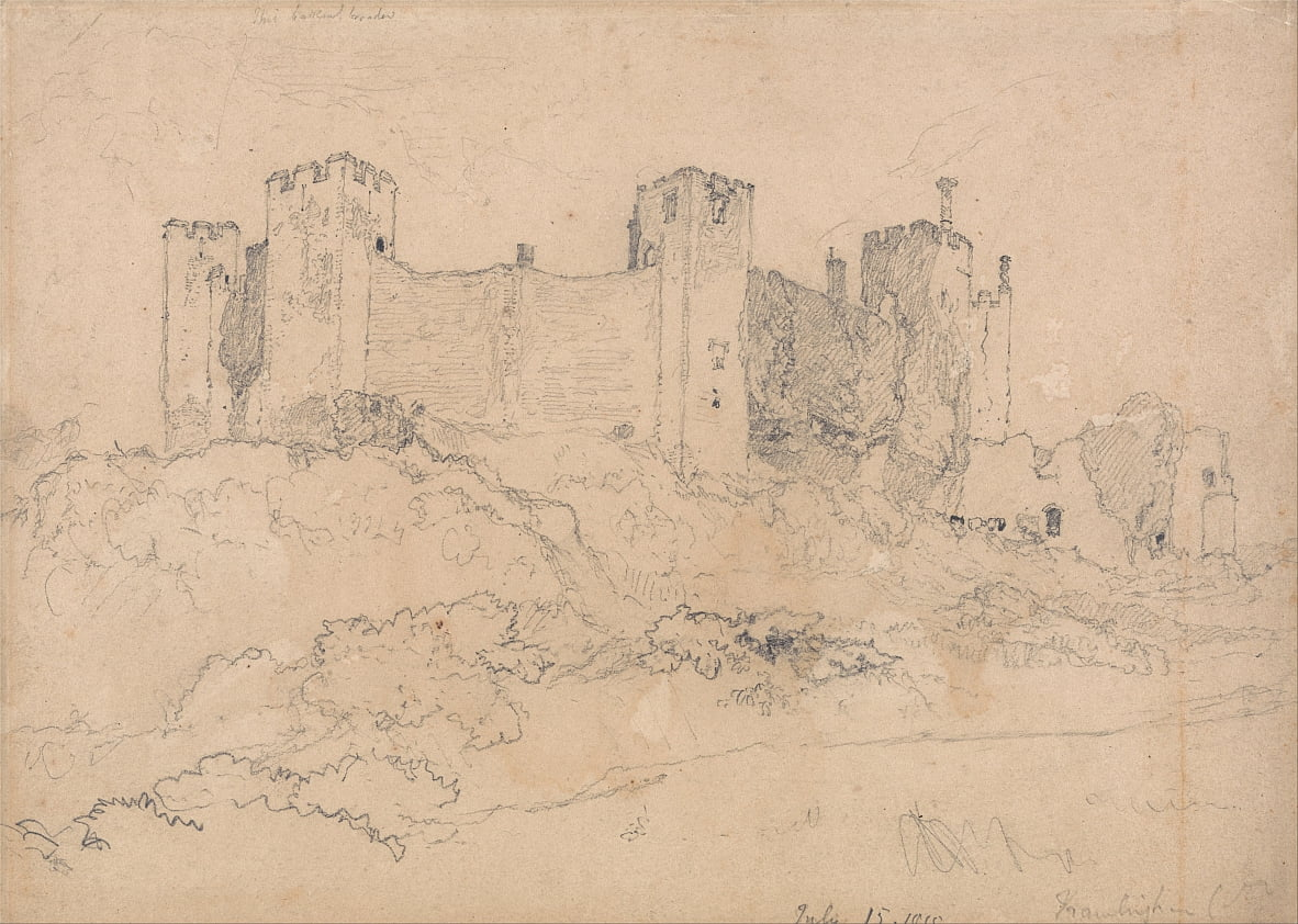 Framlingham Castle, Suffolk door John Sell Cotman