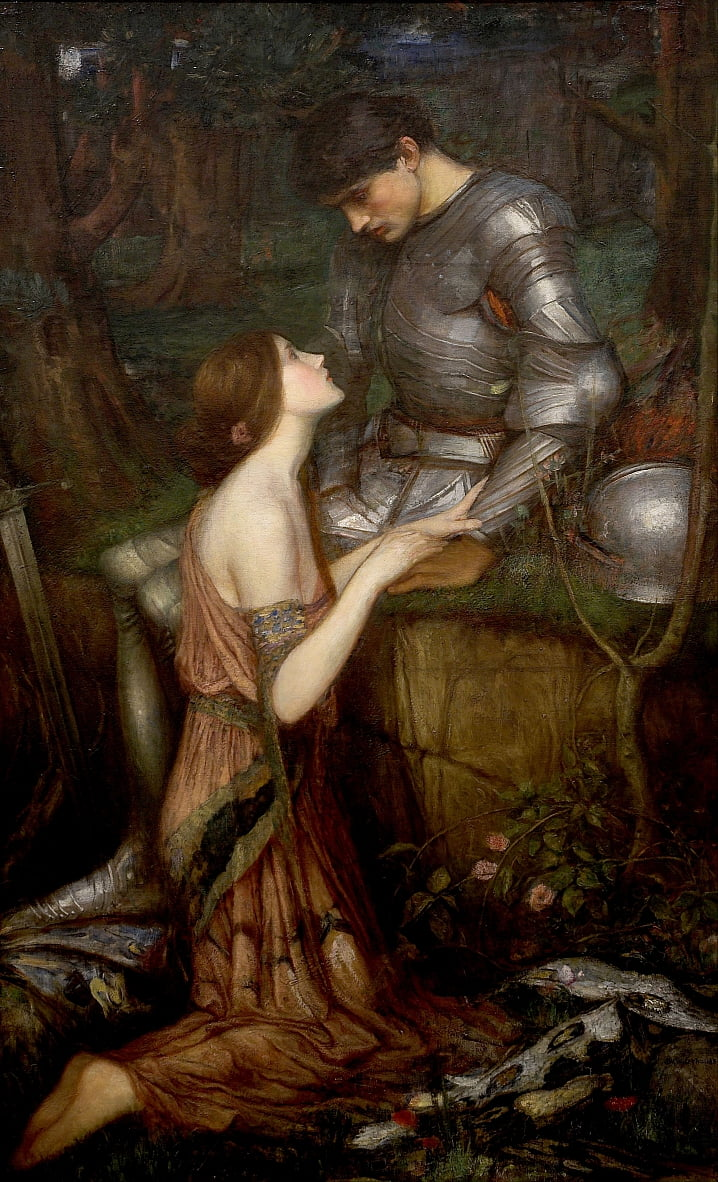 vrouwelijk monster door John William Waterhouse