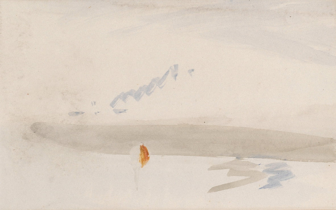 Het Channel Sketchbook door Joseph Mallord William Turner