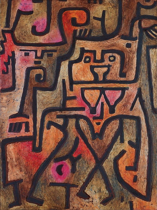 Forest Witches, 1938. door Paul Klee