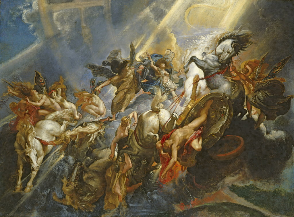 The Fall of Phaeton, ca.1604-05 door Peter Paul Rubens