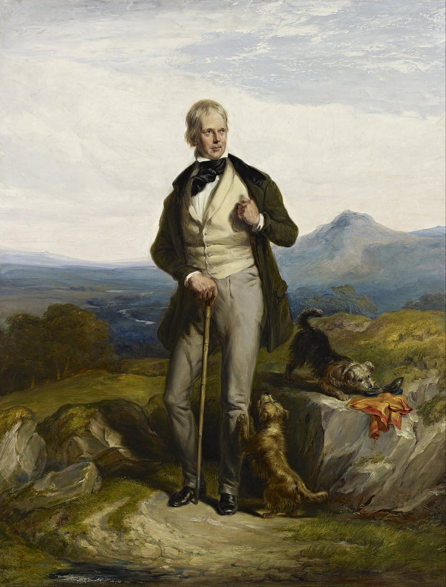 Sir Walter Scott, 1771 door Sir William Allan