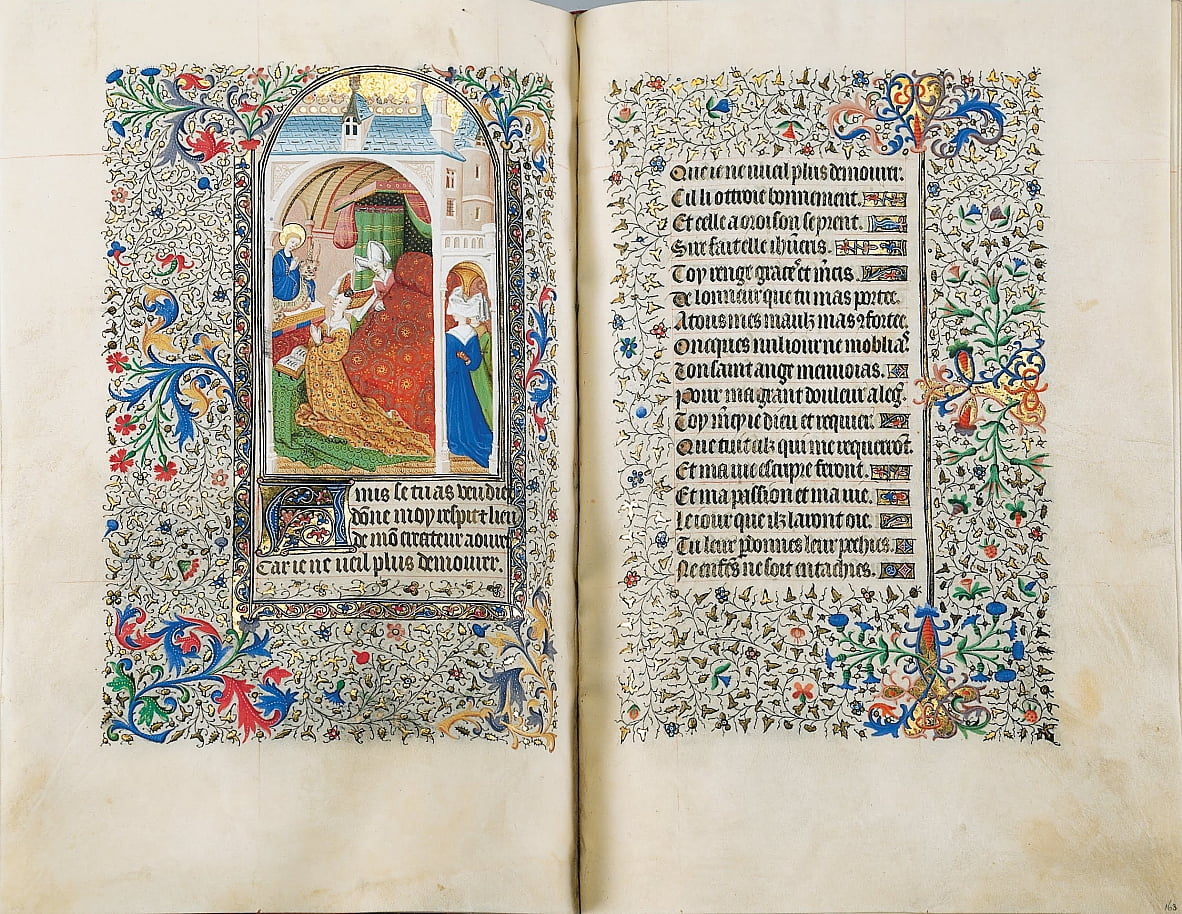 Sobieski getijdenboek door The Master of the Bedford Hours