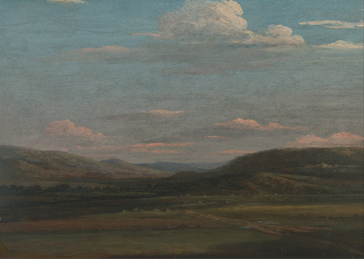 The Vale of Pencerrig door Thomas Jones