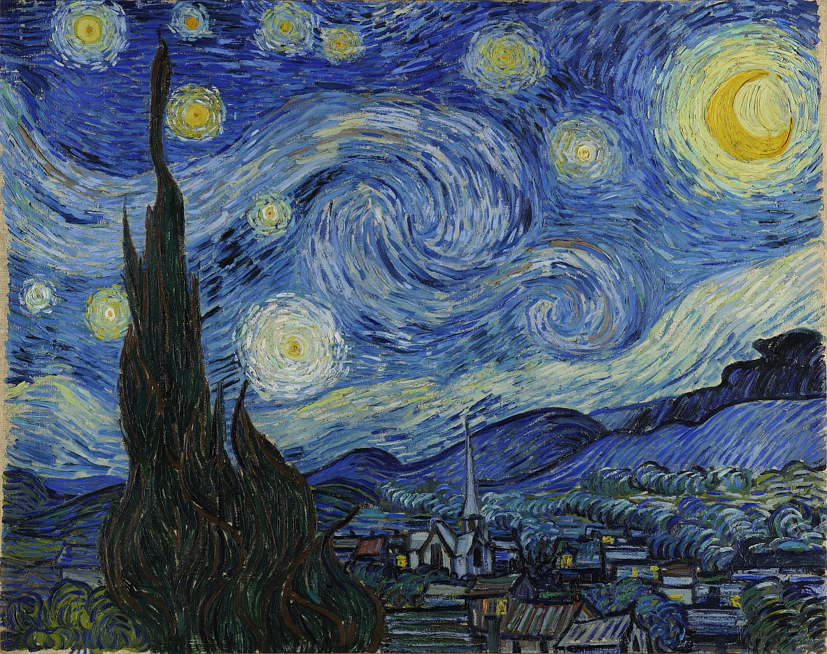 Sterrennacht door Vincent van Gogh