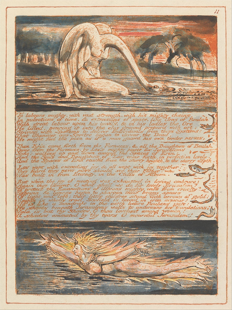Jeruzalem door William Blake