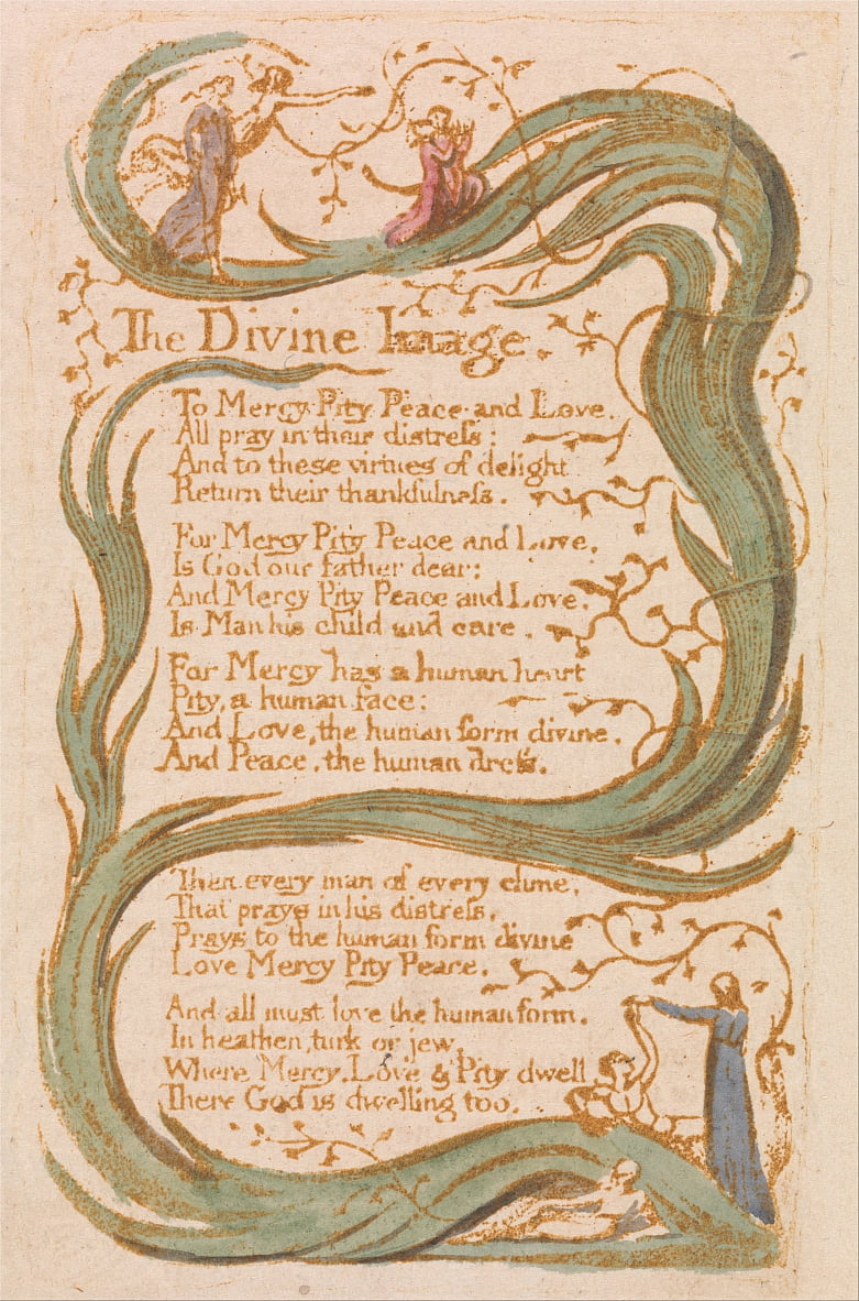 Songs of Innocence, Plate 12, door William Blake