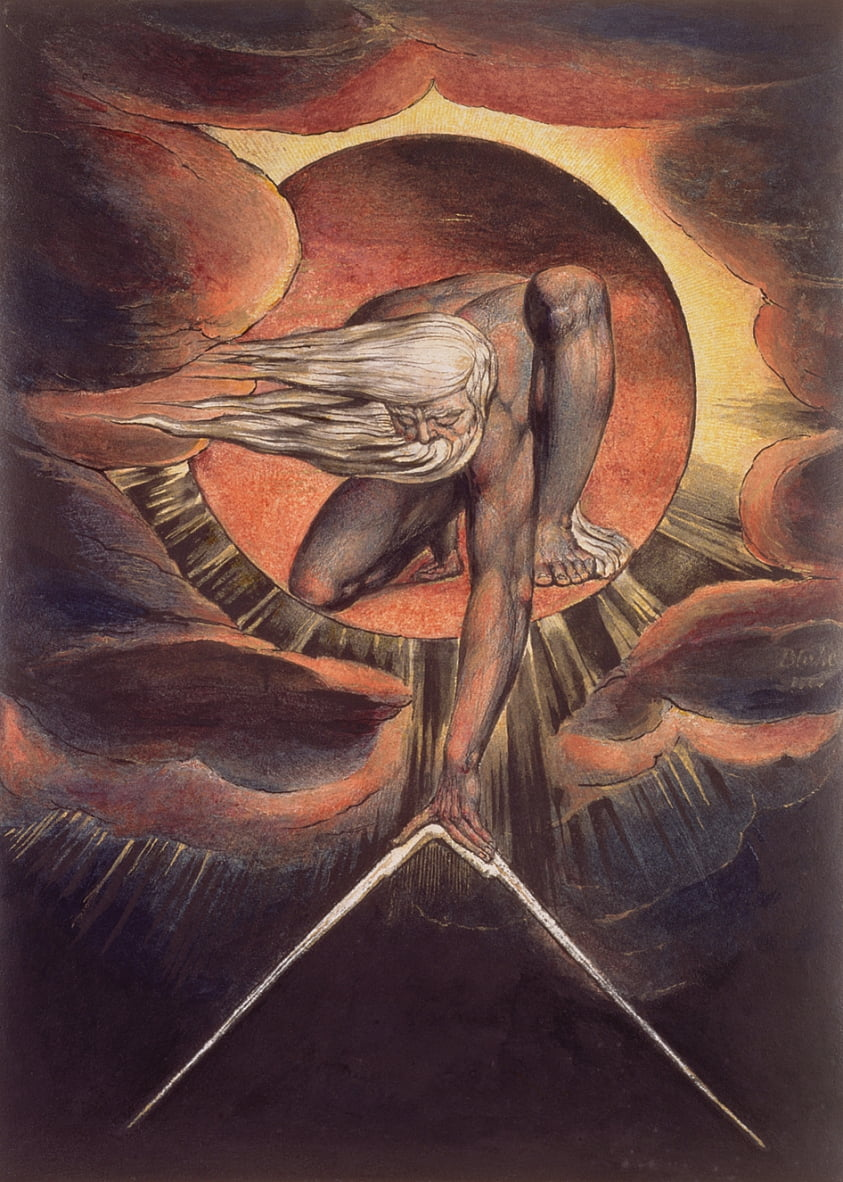 The Ancient of Days door William Blake